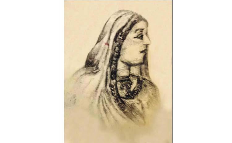 'এটি নবাব ফয়জুন্নেছা চৌধুরাণীর প্রকৃত ছবি'