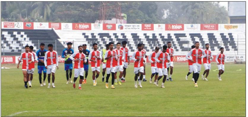 মোহামেডান-সাইফ লড়াইয়ে আজ শুরু কুমিল্লায় ফুটবল উৎসব