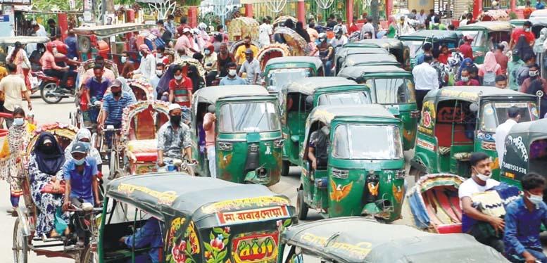 কুমিল্লা শহরে মারাত্মকভাবে ছড়িয়ে পড়েছে করোনা