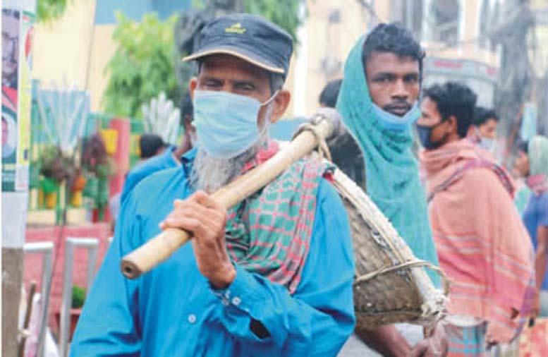 কুমিল্লায় দিনমজুররা কাজ সংকটে