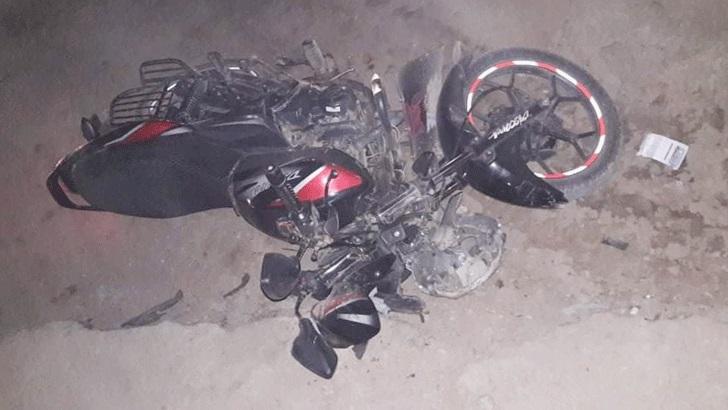 চুয়াডাঙ্গায় বাইক থেকে পড়ে নারী নিহত